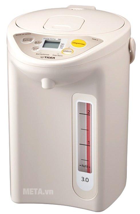 Bình thủy điện có khả năng giữ nước ấm ở nhiều mức nhiệt khác nhau