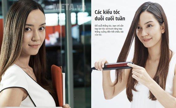 Máy tạo kiểu tóc Panasonic EH-HV20-K645 dễ sử dụng