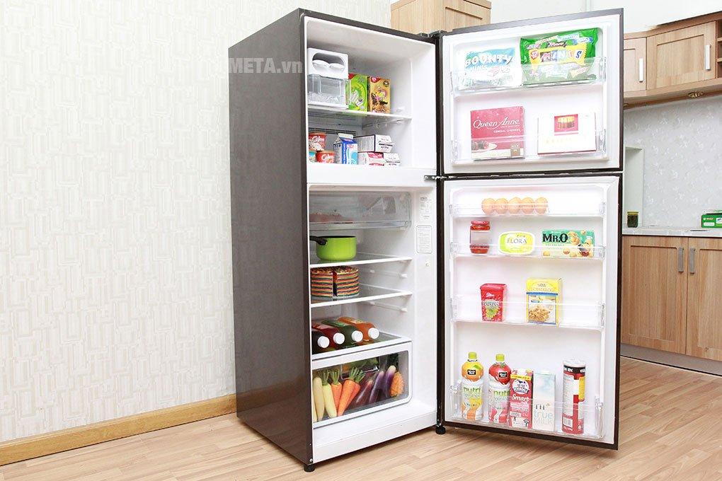 Tủ lạnh 2 cánh 395 lít Hitachi R-VG470PGV3 thiết kế sang trọng