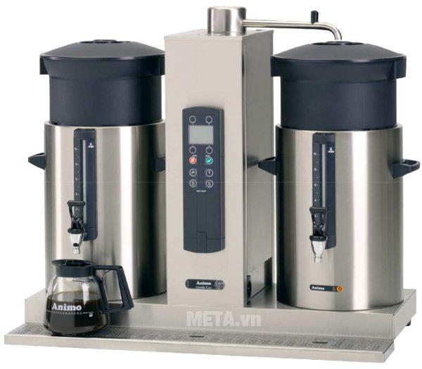 Máy pha cà phê Animo CB 2x10 có thiết kế hiện đại