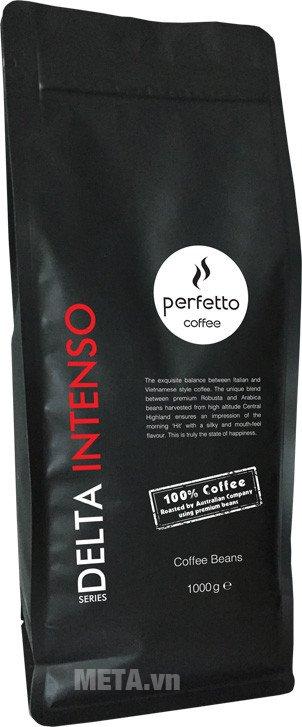 Cà phê hạt Delta series intenso mang đến hương vị khó quên