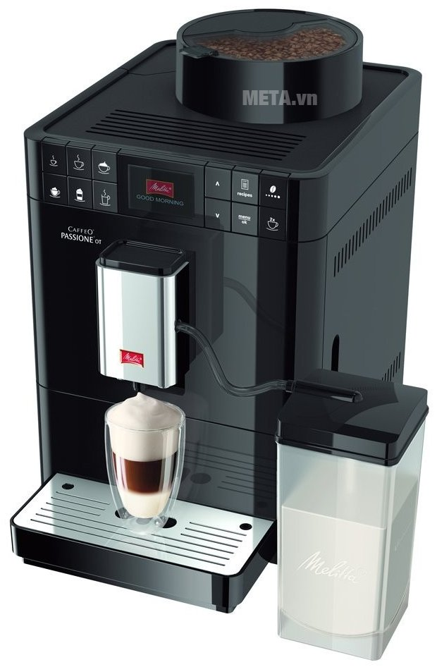 Melitta Caffeo Passione OT dễ dàng sử dụng