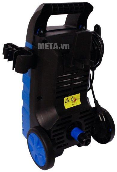 Máy phun xịt rửa cao áp Kachi - 1400W có bánh xe giúp di chuyển dễ dàng