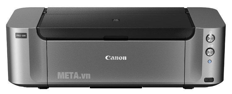 Máy in phun màu Canon Pixma Pro-100 có độ phân giải tối đa lên đến 4.800dpi x 2.400dpi