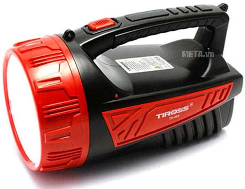 Đèn pin sạc điện Tiross TS-682 có thiết kế tiện lợi