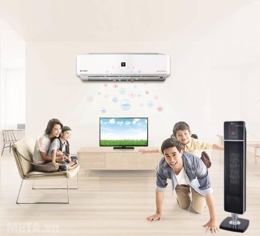 Quạt sưởi và điều hòa hai chiều sẽ bảo vệ sức khỏe tốt cho gia đình bạn khi mùa đông về.