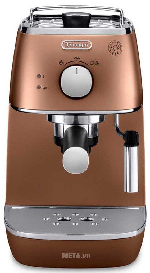 Máy pha cà phê Delonghi Distina ECI 341.CP có thiết kế tiện lợi