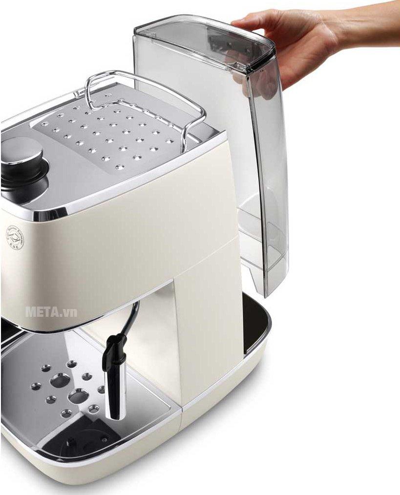 Máy pha cà phê Delonghi Distina ECI 341.W  có thể tháo rời