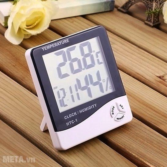 Nhiệt ẩm kế điện tử HTC-1 có thiết kế tiện lợi