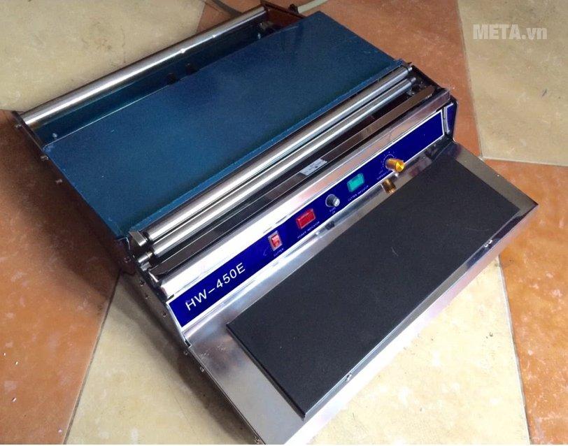 Máy bọc màng thực phẩm HW - 450 dễ sử dụng