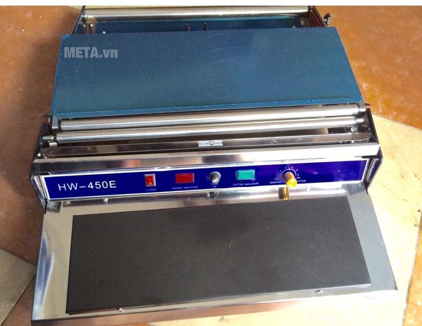 Máy bọc màng thực phẩm HW - 450 có chất liệu cao cấp