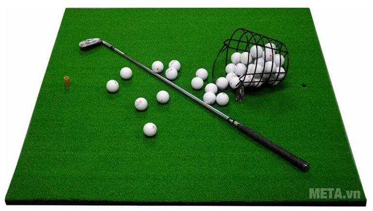 Thảm tập Golf Swing 120cm x 120cm có chất liệu cao cấp