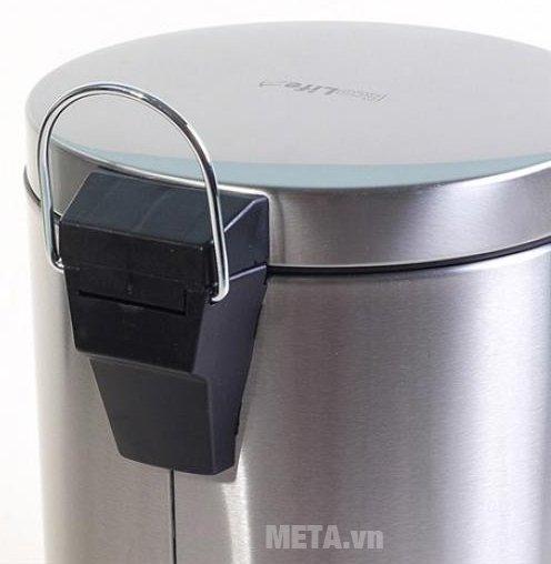 Thùng rác inox ECO 101/7L với chất liệu inox bền bỉ