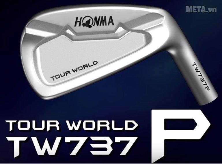 Bộ gậy golf Honma Iron Tour World TW 737 P NS Pro có chất liệu cao cấp