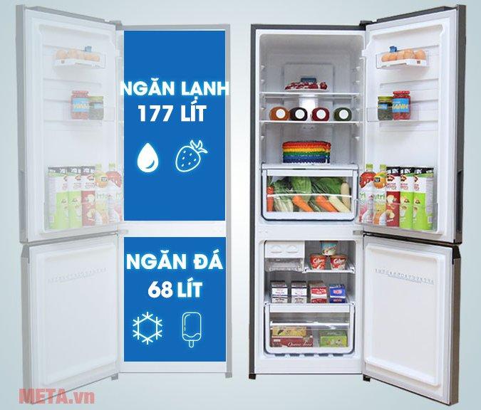 Tủ lạnh 260 lít Inverter Electrolux EBB2600MG