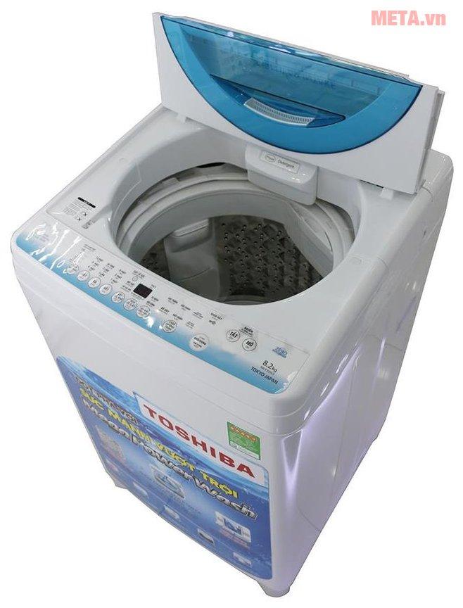 Máy giặt Toshiba AW-E920LVW với cửa trên tiện lợi