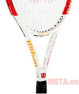 Thân vợt được làm chắc chắn