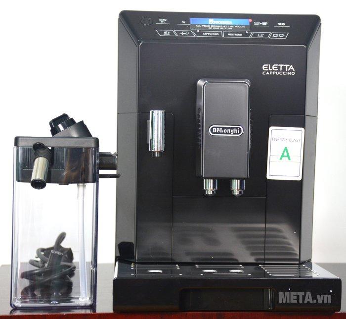 Máy pha cà phê tự động Delonghi ECAM44.660.B có thiết kế hiện đại