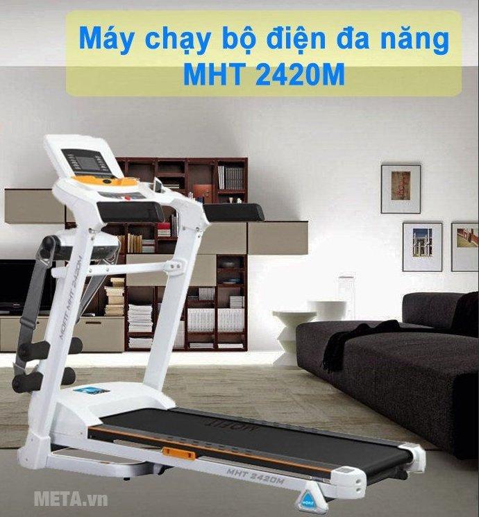 Máy chạy điện cao cấp Mofit MHT 2420M giúp rèn luyện cơ thể tại nhà