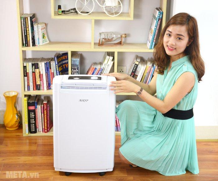 Máy hút ẩm Aikyo AD 25EU có công suất hút ẩm 25 lít/ngày