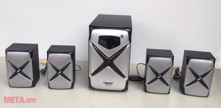 Loa vi tính Tako W7500 (4.1) mang đến âm thanh chất lượng