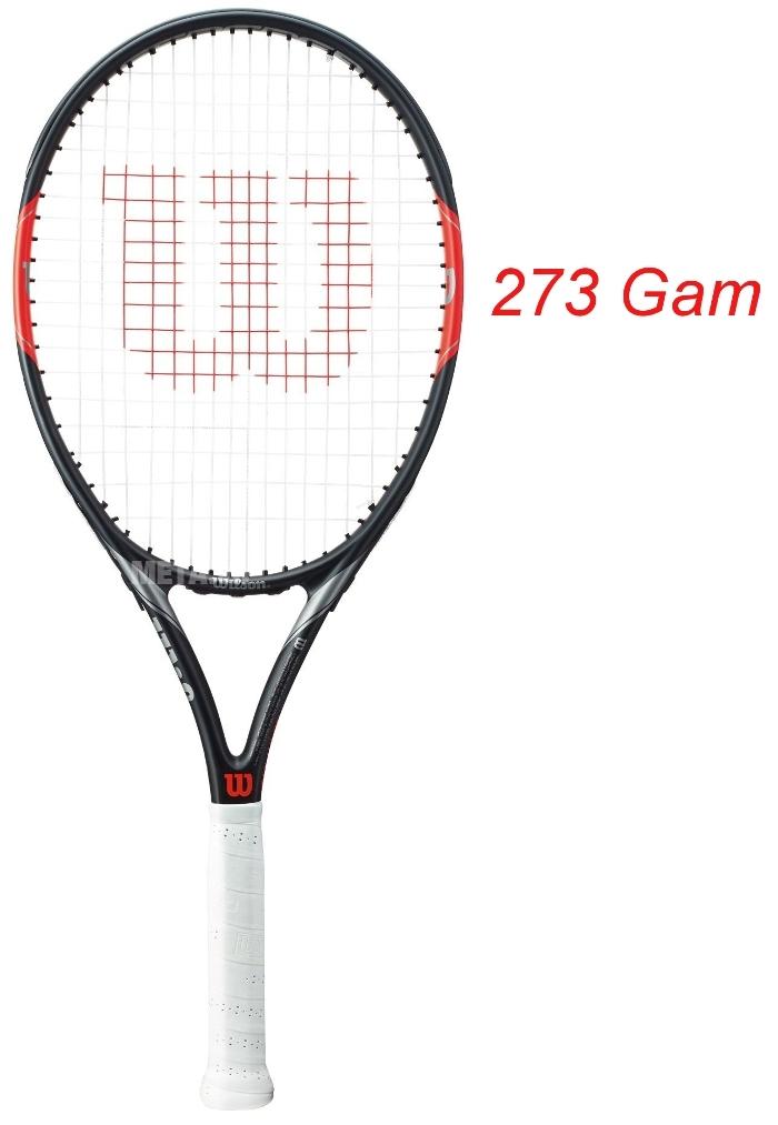 Vợt tennis Wilson Federer Team 105 WRT3120002 dành cho người mới chơi