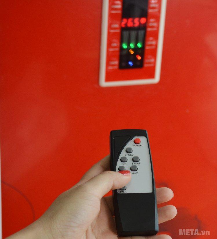 Bảng điều khiển từ xa của máy làm mát Chika CK040