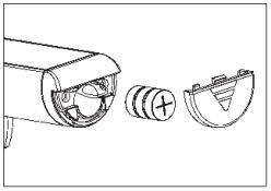 Lắp pin cho cân hành lý Beurer LS10