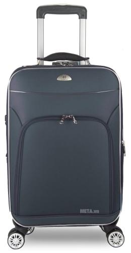 Vali 4 bánh xoay VLX015 20 inch màu xanh