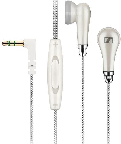 Tai nghe Sennheiser MX 585 WEST mang phong cách trẻ trung với gam màu trắng