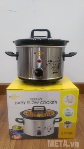 Nồi nấu cháo đa năng Hàn Quốc BBCooker (2,5 lít)