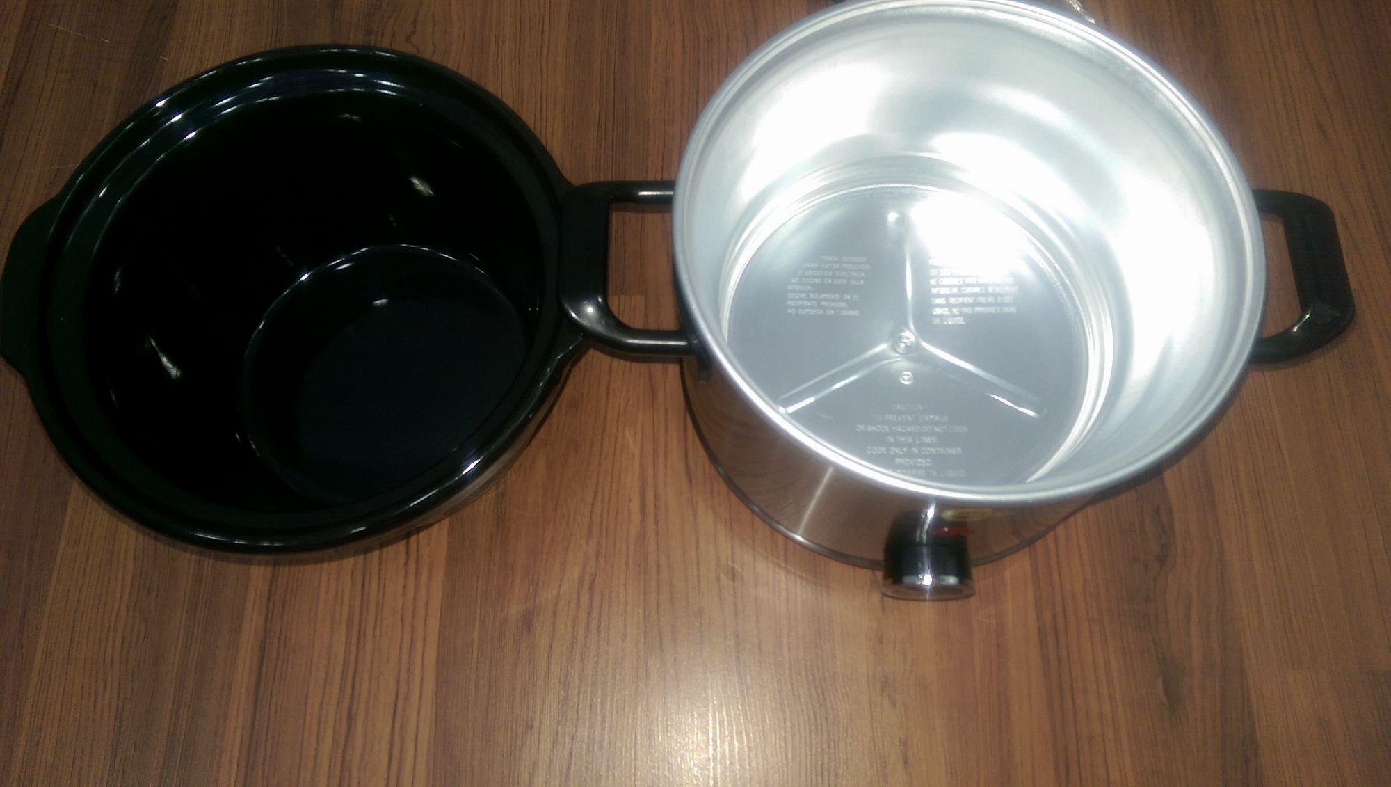 Một số ảnh thực tế về nồi nấu cháo đa năng Hàn Quốc BBCooker (2,5 lít)