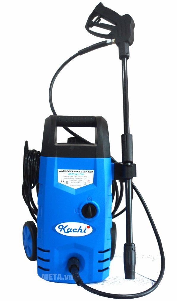 Máy phun xịt rửa cao áp Kachi - 1400W có thiết kế cao cấp
