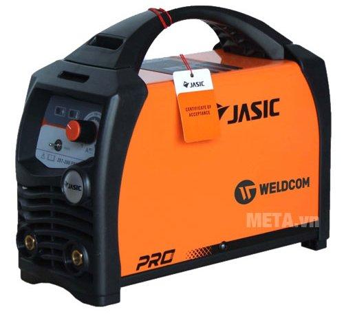 Máy hàn que Jasic ZX7-200PRO có tay xách di chuyển dễ dàng