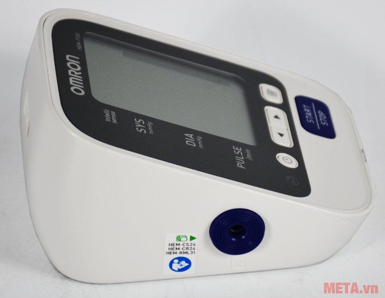 Cổng cắm vòng bít của máy đo huyết áp Omron HEM-7130
