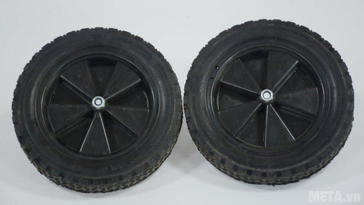 Máy rửa xe cao áp Projet P30-1510B2 có 2 bánh xe đường kính lớn