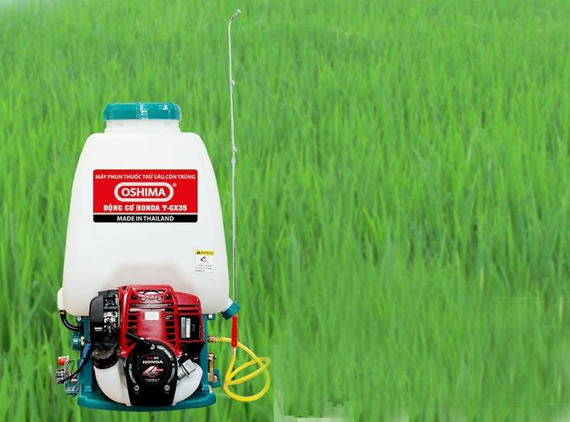 Bình xịt Oshima T-GX35 tiêu diệt hiệu quả sâu bọ, muỗi,... mà không hao tốn thuốc