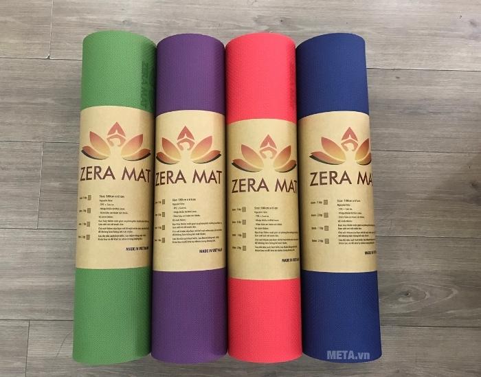 Thảm Yoga Zera Mat 8 ly đủ màu