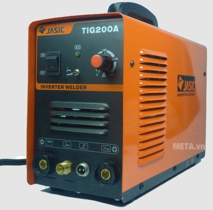 Máy hàn Jasic TIG-200A có công nghệ interver tiết kiện điện