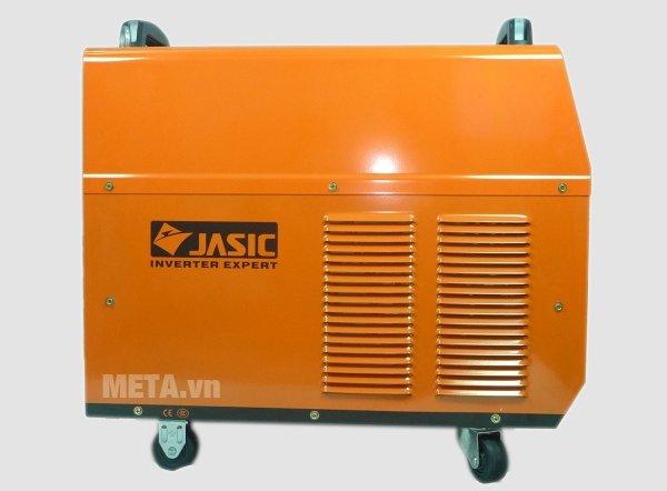 Máy hàn que Jasic ARC-630 (J21) có vỏ màu cam cách điện, chống bụi