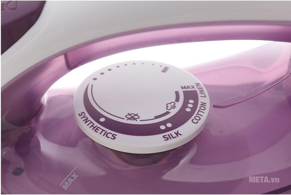 Bàn là hơi nước Philips GC1426/37 có nút dễ dàng điều chỉnh