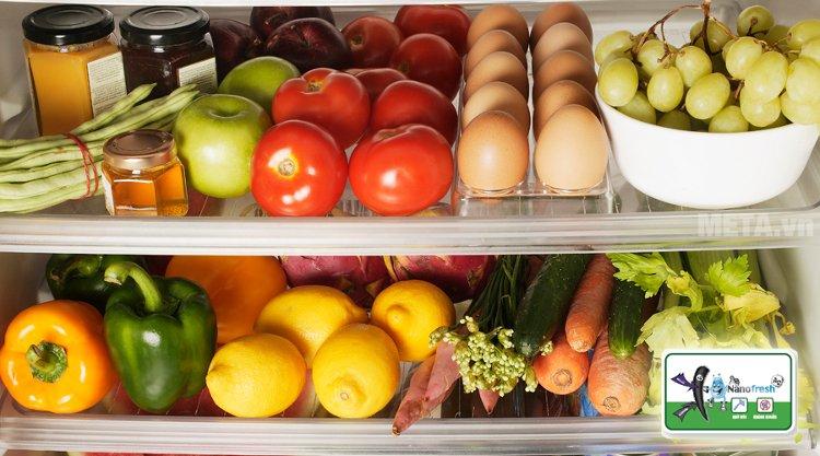 Tủ lạnh Aqua 110 lít AQR-125BN lưu trữ được rất nhiều thực phẩm