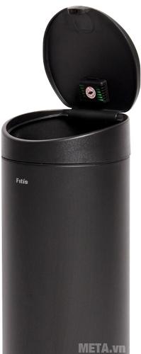 Thùng rác Inox nhấn tròn lớn Fitis RTL1-903 trang bị sáp thơm chống bọ muỗi lại gần