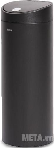 Thùng rác Inox nhấn tròn lớn Fitis RTL1-903 kiểu dáng hiện đại, khử mùi hiệu quả