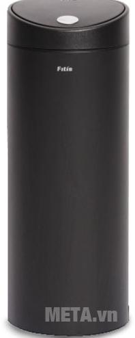 Thùng rác Inox nhấn tròn lớn Fitis RTL1-903 15 lít đựng được nhiều rác hơn