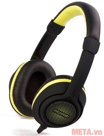 Tai nghe Microlab K320 màu đen vàng