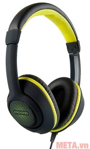Tai nghe Microlab K320 thiết kế kiểu chụp đầu, ôm khít tai