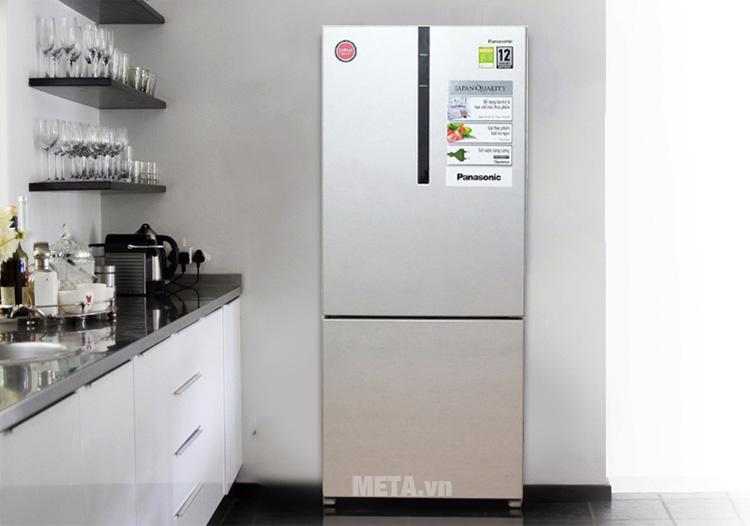 Tủ lạnh có thiết kế sang trọng phù hợp với nhiều không gian khác nhau