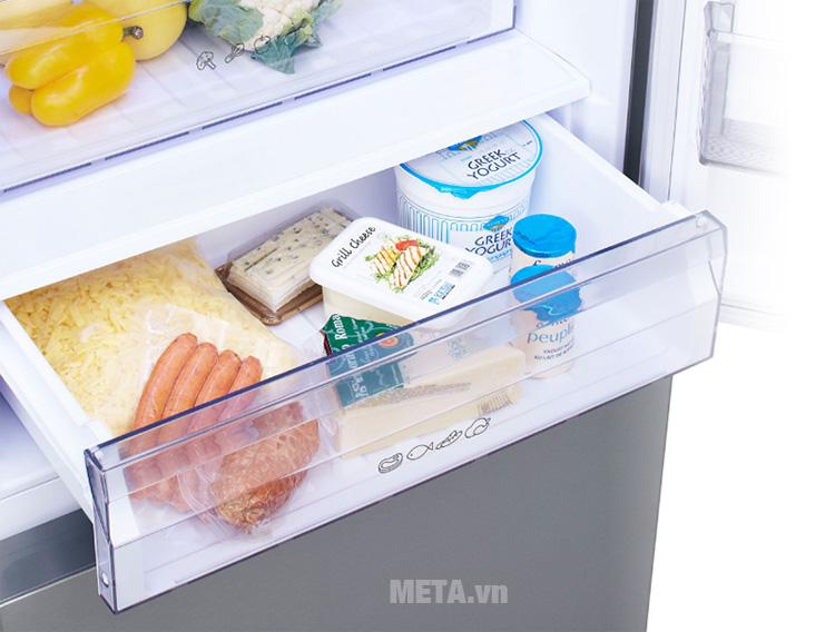 Tủ lạnh có ngăn làm lạnh giữ độ tươi ngon cho thực phẩm