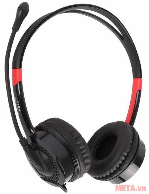 Tai nghe Microlab K270 có kiểu dáng chụp tai